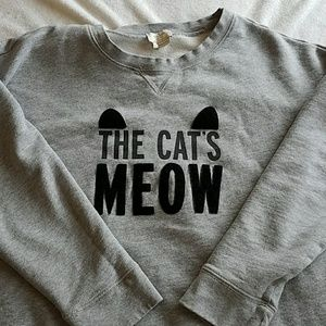 """Kate Spade """"The Cat's Meow"""" sweater"""